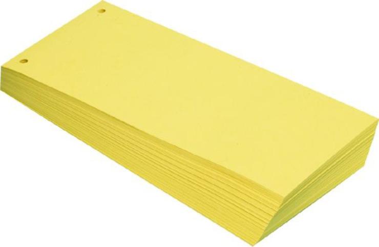 BüroLine Trennstreifen gelb günstig kaufen | Papersmart