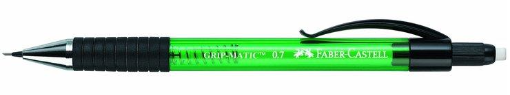 0,7 mm H/ärtegrad Schaft Druckbleistift GRIP MATIC Minenst/ärke blau HB