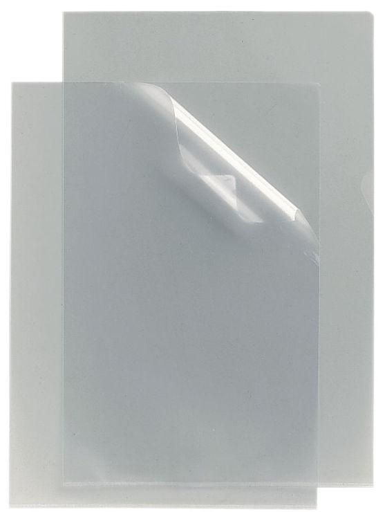 0,12mm genarbt oben und rechts offen 100 x Sichthüllen Klarsichthüllen A4