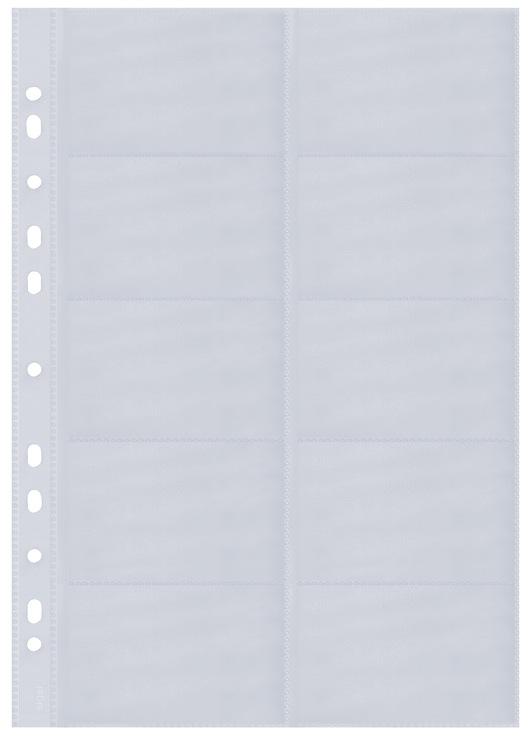 Sigel Visitenkarten Ringbuch Zweireihig A4 Papersmart