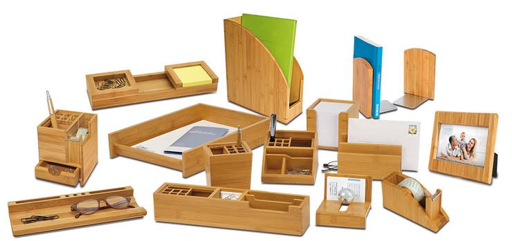 Wedo Visitenkartenhalter Bambus Br Papersmart
